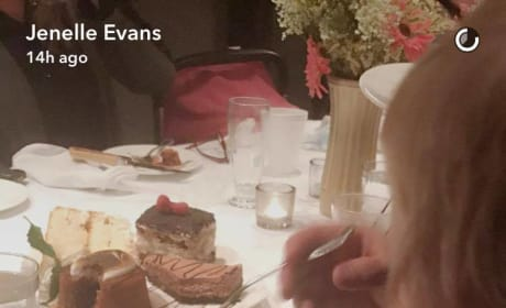 Jenelle Evans Son at Baby Shower