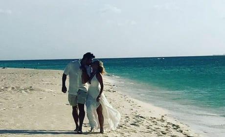 Tamra Judge and Eddie Judge in Aruba