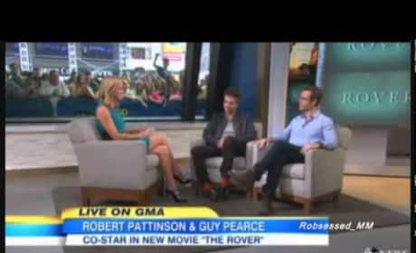 Robert Pattinson on Good Morning America
