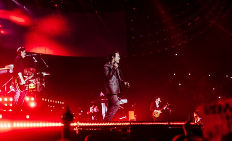 Harry Styles Performs in Europe