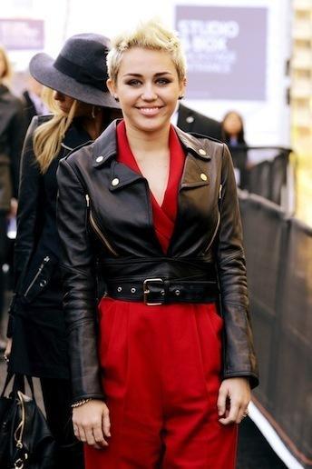 Miley Cyrus Smiles
