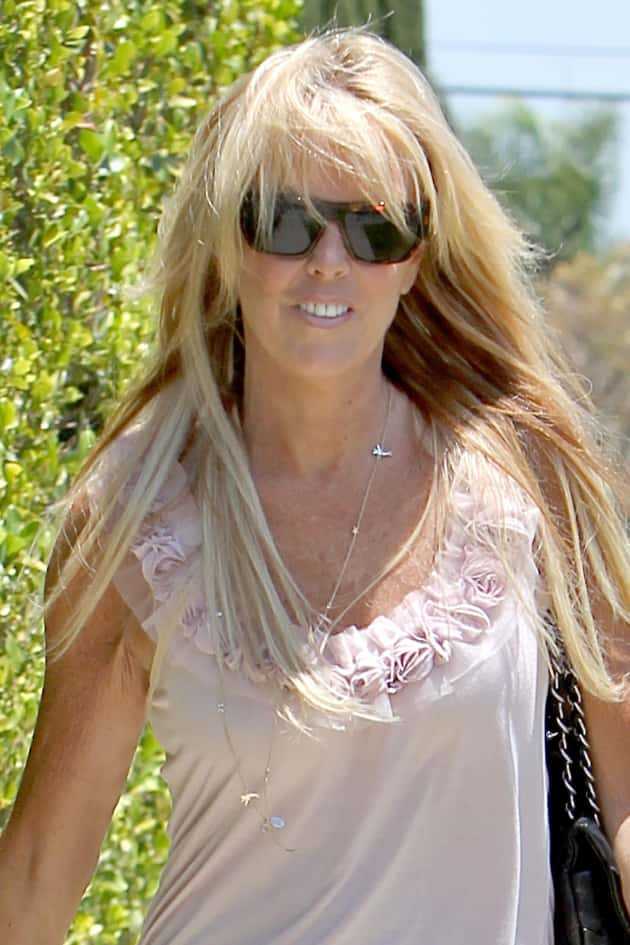 Dina Lohan Paparazzi Photo