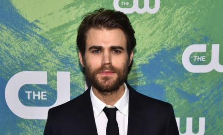 Paul Wesley with a Beard
