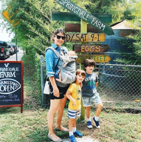 Genevieve Cortese and Kids