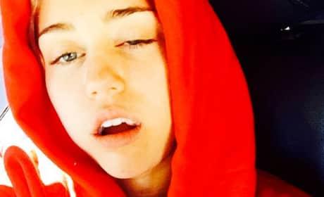 Sedated Miley