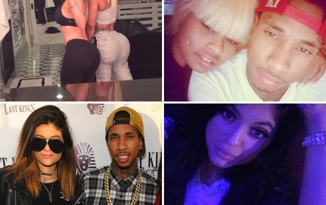 Kim kardashian and blac chyna former besties