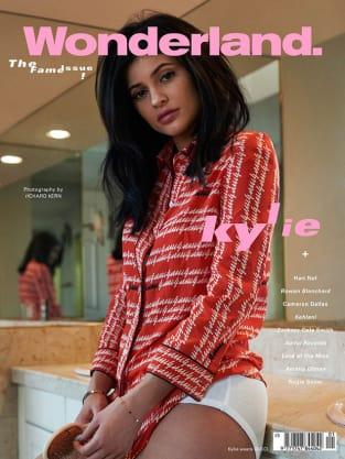 Kylie Jenner Wonderland Cover