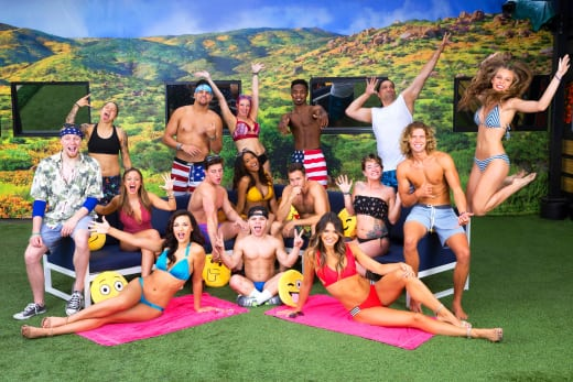 Big Brother 20 Cast Poses