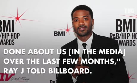 Ray J  to Kanye West: Look Out!
