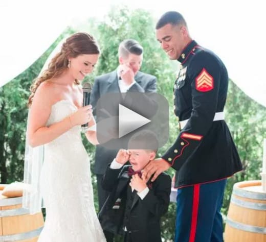 Bride Recites Vows to 4-Year Old Stepson and He\'s Not the Only One ...