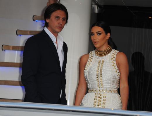 Jonathan Cheban and Kim Kardashian: MailOnline's Yacht Party