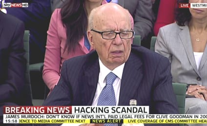 Rupert Murdoch on News Corp Scandal: Shocked, Appalled, Ashamed