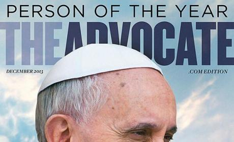 Pope Francis on The Advocate