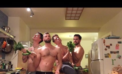 "Men Make Like Beyonce, Recreate ""7/11"" Music Video... With Kale!"