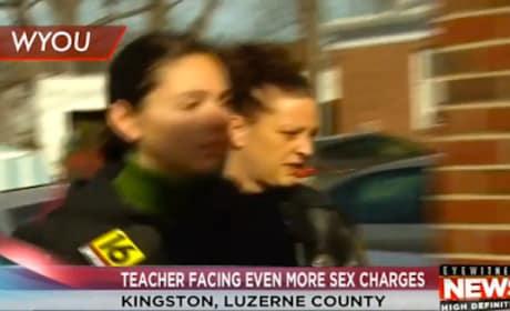 Lauren Harrington-Cooper: Teacher Arrested