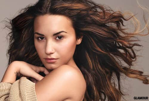 Demi Lovato Glamour Photo
