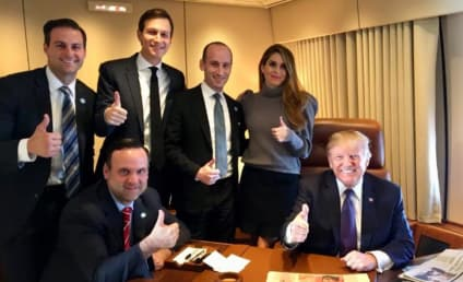 Donald Trump Celebrates Election Anniversary With Smiling White People