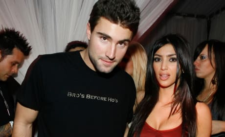 Brody Jenner and Kim Kardashian Feud Photo