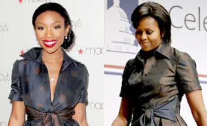 Fashion Face-Off: Brandy vs. Michelle Obama