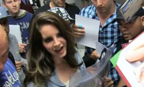 Lana Del Rey Talks Kimye Wedding