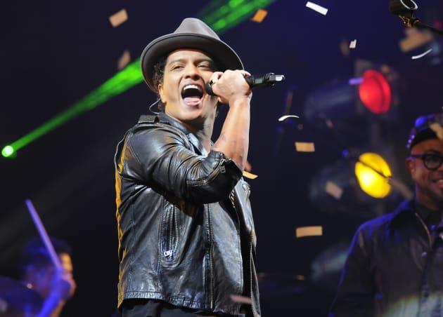 Bruno Mars Concert Pic