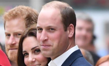 Kate Middleton and 2 Princes