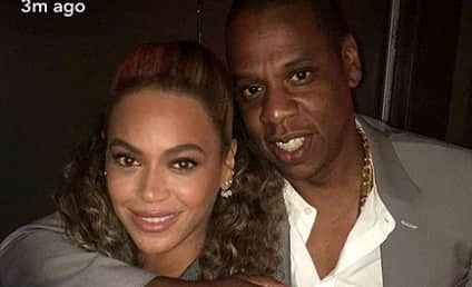 Beyonce and Jay Z Rock Matching Outfits at Film Premiere