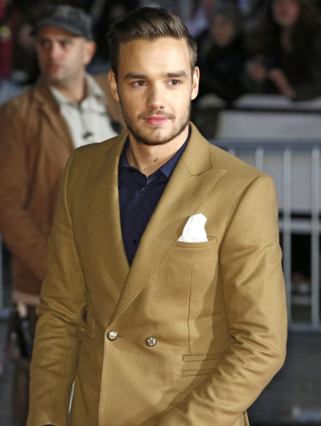 Liam Payne in Gold