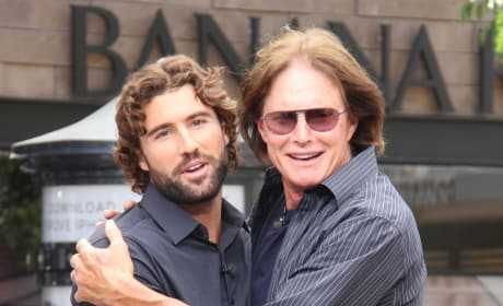 Brody and Bruce Jenner