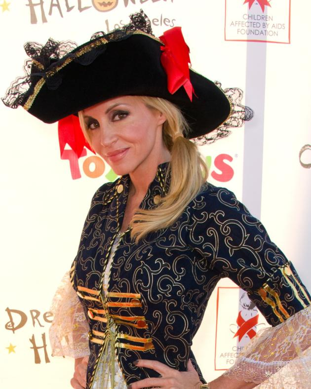 Camille Grammer as a Pirate