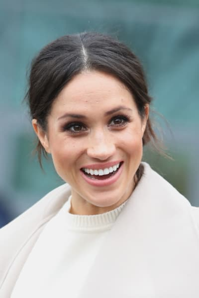 Meghan Markle in Happy Shock