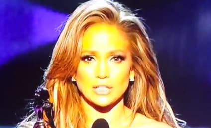 Jennifer Lopez Wins Icon Award, Breaks Down on Billboard Stage