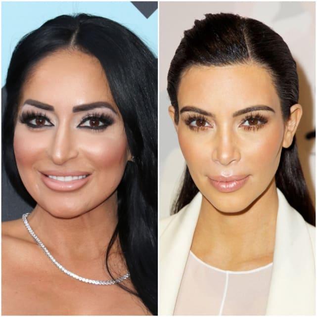 Angelina pivarnick kim kardashian