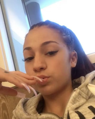 Danielle Bregoli with Nails for Days