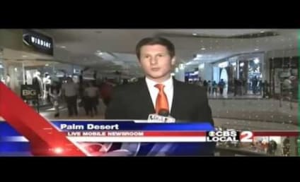 "Reporter Shoots Down Heckler with ""Your Mama"" Joke"