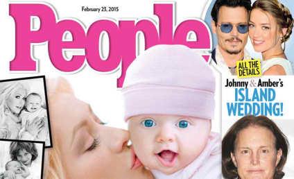 Christina Aguilera and Summer Rain Cover People Magazine!