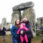 Jon Walters and Rachel Bear Visit Stonehenge