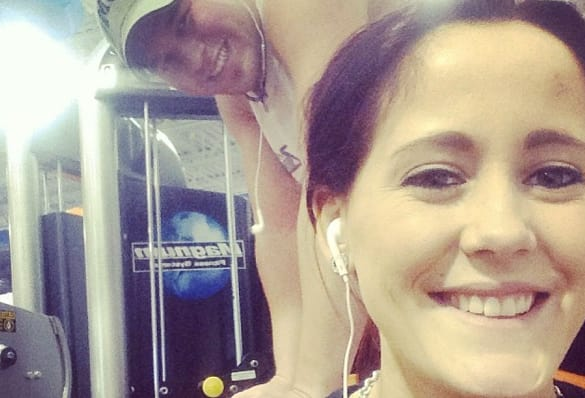 Jenelle Evans and Nathan Picture