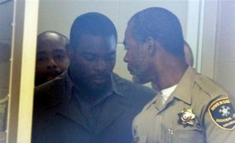 Michael Vick in Court
