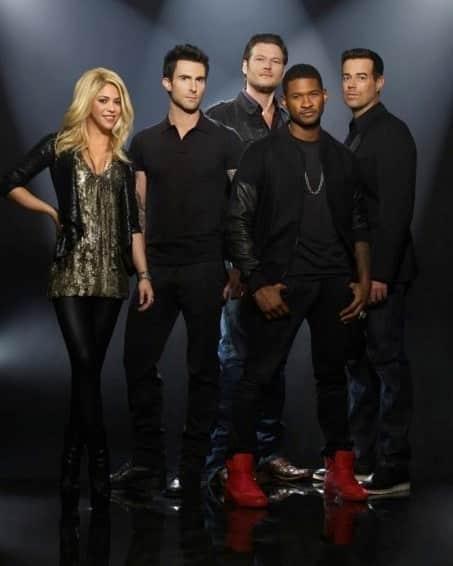 The Voice Season 4 Cast