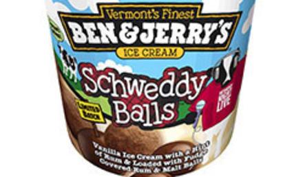 Ben & Jerry's Presents: Schweddy Balls Ice Cream!