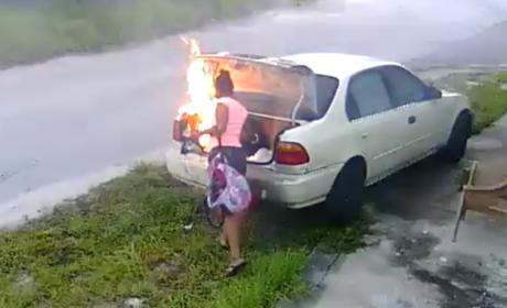 Florida Woman Seeks Revenge on Ex-Boyfriend, Sets Wrong Car on Fire