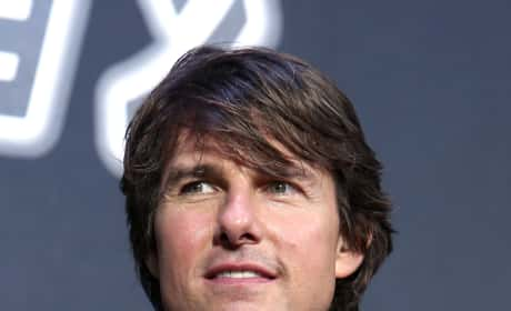 Tom Cruise at M:I Premiere