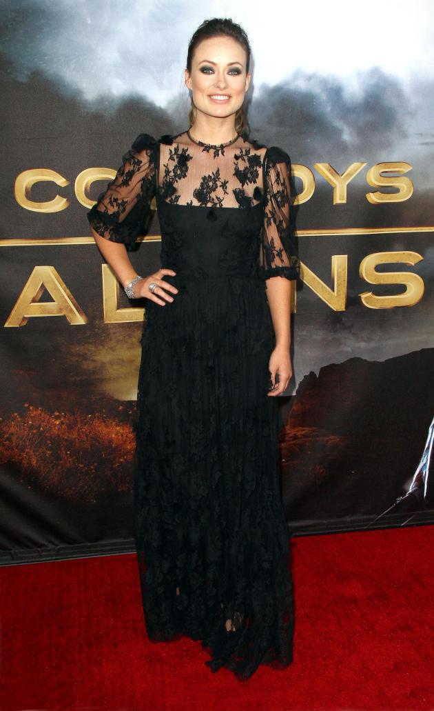 Olivia Wilde Movie Premiere Pic