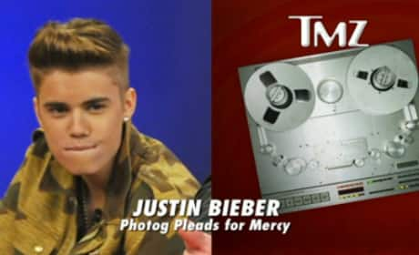Justin Bieber Flips Out on Cameraman
