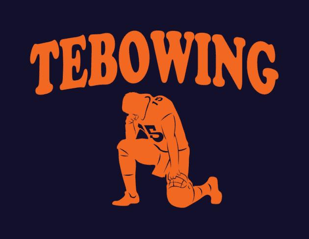 Tebowing Shirt