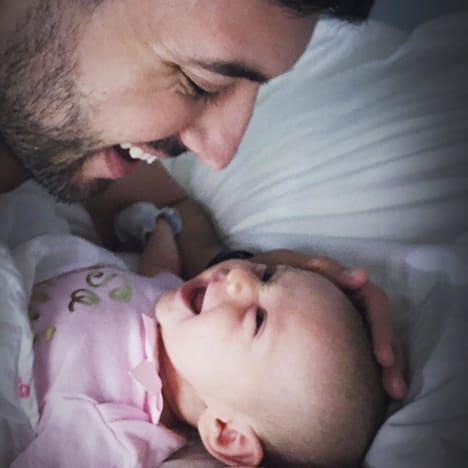 Jeremy Vuolo and Baby Felicity Vuolo