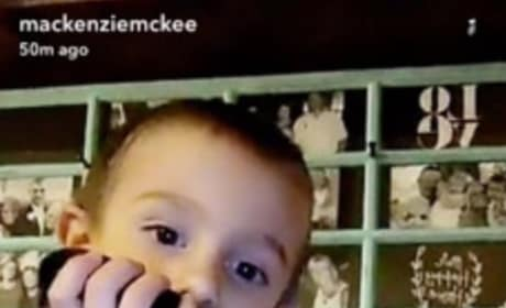Mackenzie McKee's Son With Dead Puppy
