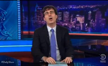 Grade John Oliver as host of The Daily Show.