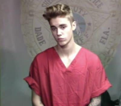Justin Bieber in Court